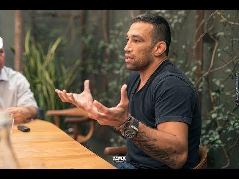 Fabricio Werdum UFC 216 Media Lunch Scrum - MMA Fighting