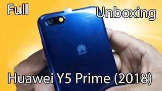 Huawei Y5 Prime (2018) Full Unboxing |