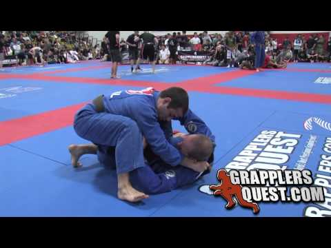 Brown Belt match! Jason Scully vs Mark Ramos at Grapplers Quest 2010 Beast of the East