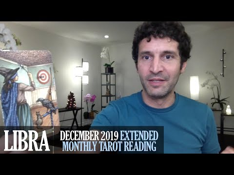 LIBRA December 2019 Extended Monthly Intuitive Tarot Reading by Nicholas Ashbaugh