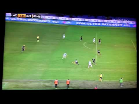 Lazio Inter 1 0 gol Klose