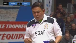 petanque finale thailand france 2017