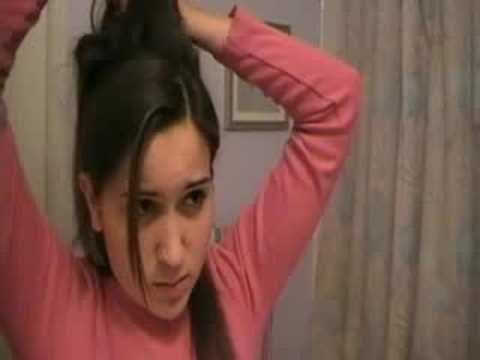 Amy Winehouse inspired hair tutorial
