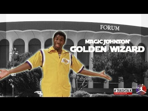 MAGIC JOHNSON GOLDEN WIZARD