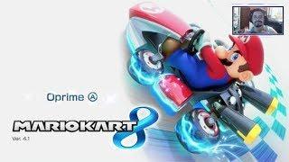 Mario Kart 8, Mario Maker - live pra relaxar
