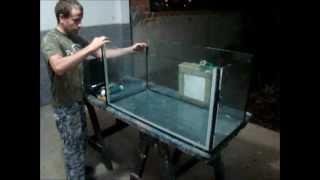 Como colar um aquário [DIY] [FVM] By; Moises Gama