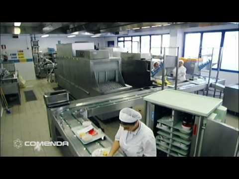 COMENDA COMMERCIAL DISHWASHERS: TURN KEY PROJECT