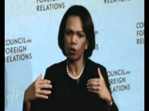 Condoleezza Rice Schools Katie Couric on Why U.S. Invaded Iraq