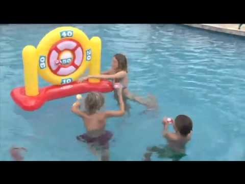 Swimming Pool Inflatable Ball Darts Game Toys For Kids And Adults Youtube