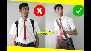 How to look SUPER GOOD in your boring school Uniform| Back to School | SOH India | Swapnil |Hindi |