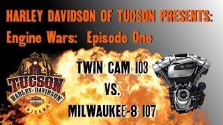 Engine Wars Episode One: Milwaukee Eight 107  vs Twin Cam 103