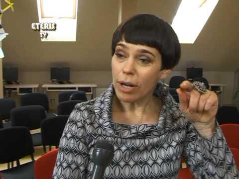 ETERIS TV 2013.04.16 Balandžio 11d. Prienuose lankėsi dailininkė, keramikė Nomeda Marčėnaitė