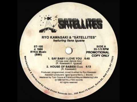 Ryo Kawasaki&The Satellites Feat. Dana Laguna-Say baby I love you-freestyle/dance