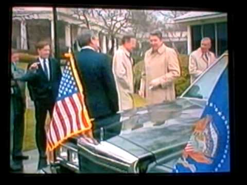 President Reagan, Bush, The Secret Service...And A New Limousine