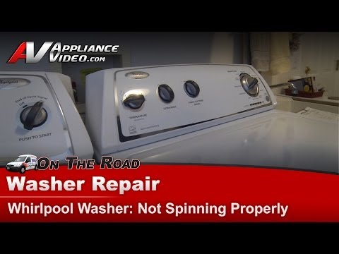 Washer Diagnostic Repair - Not Spinning Properly - Whirlpool - WTW4850XQ0