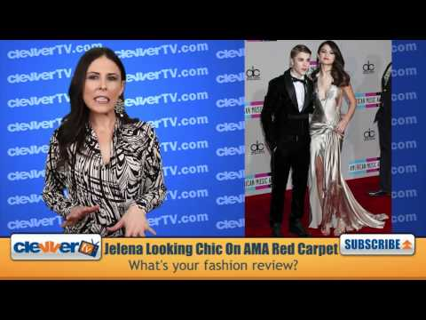 Justin Bieber & Selena Gomez Walk 2011 AMA Red Carpet in Style thumbnail