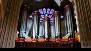 Widor's Toccata - or - Widor's 5th Symphony in F - Movement V - Toccata