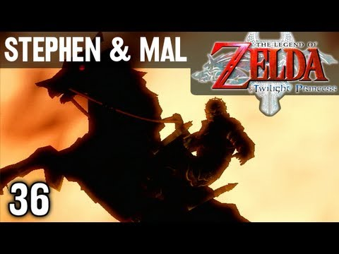 Stephen & Mal: Zelda Twilight Princess #36