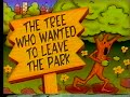 """Sesame Street - """"The Tree Who Wanted To Leave The Park"""""""