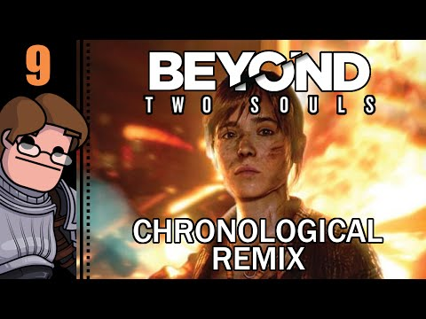 Let's Play BEYOND: Two Souls - Chronological Remix Mode (PS4) Part 9 - Zoey