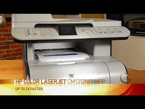 GC Season 5 Ep.8 - HP Color Laserjet CM1312NFI - Tech Look