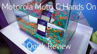 Motorola Moto G (3rd Generation) Hands On And Quick Review