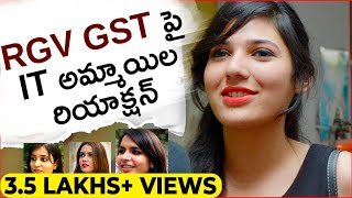 IT Women Reaction On RGV's GST   God S And Truth   Mia Malkova   Ram Gopal Varma   Socialpost