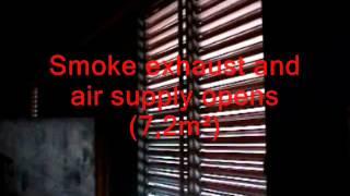 BOVEMA - Evacuatori di fumo e calore. Dimostrazione d'uso