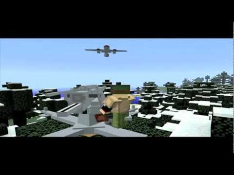 Minecraft WW2 content pack for flans mod - manus ww2 pack