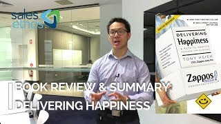 Book Review and Summary  - Delivering Happiness Pt 1