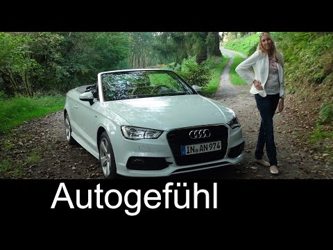 2015 Audi A3 Cabriolet test drive review - does TDI work for convertible? Autogefühl