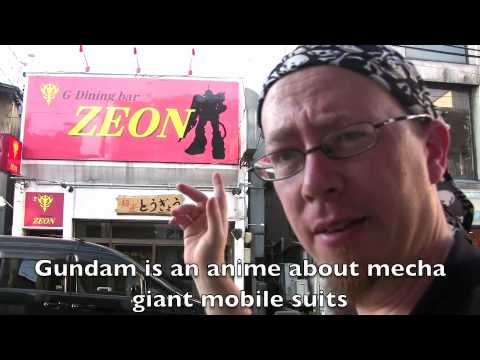 I came across a Gundam-theme restaurant called G-Dining Bar Zeon.