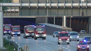 [Waldbrandunterstützung in Schweden] Kolonne Feuerwehr LK Nienburg auf Rückfahrt