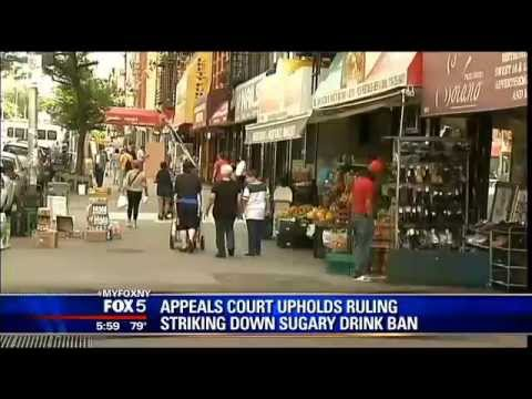Appeals Court Strikes Down New York City Big-Soda Ban - 7/30/13