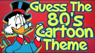 Guess That 80's Cartoon Theme!!!