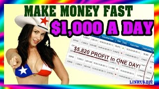 How To Make Money Online From Home - Make Money Online Fast 2017 $1,000 Per Day Case 7