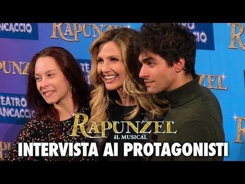 RAPUNZEL il musical | Lorella Cuccarini, Giulio Corso, Alessandra Ferrari e Maurizio Colombi