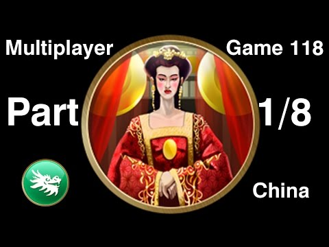 Civilization 5 Multiplayer 118: China [1/8] ( BNW 6 Player Free For All) Gameplay/Commentary