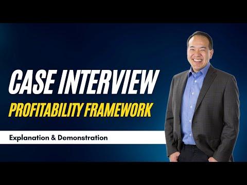 Case Interview Profit Framework (Video 6 of 12)