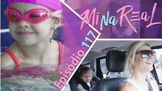 MiNa Real | Aula de natação e ballet da Valentina - Episódio 117