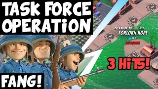 Fang! ✦ Only 3 Hits! ✦ Forlorn Hope ✦ Boom Beach