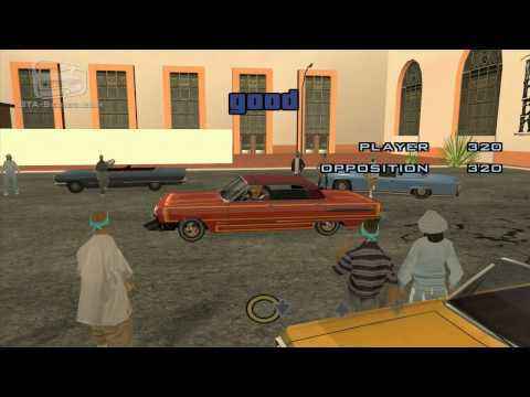 Acura 2000 on Grand Theft Auto San Andreas Lowrider Challenge Walkthrough Video In