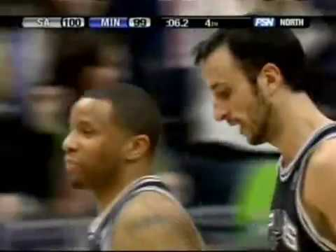 Manu Ginobili 2008 40 point games Video