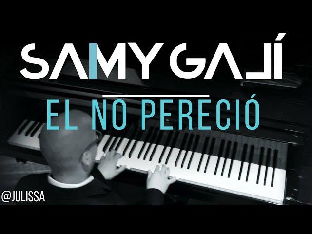 Julissa - El No Pereció (Solo Piano Cover) Samy Galí [Música Instrumental Cristiana]
