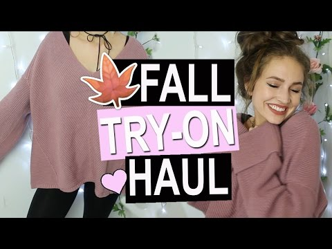 Fall TRY-ON HAUL! Forever 21, Brandy Melville, Free People ♡ Courtney Randall