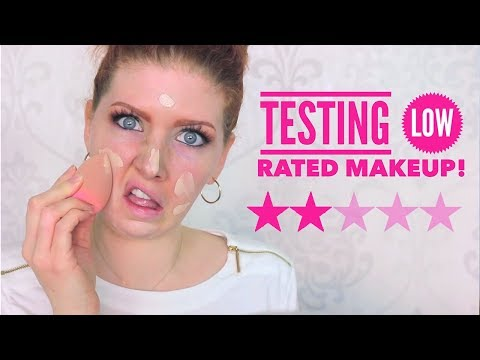 Full Face Testing WORST Rated Makeup   from ULTA