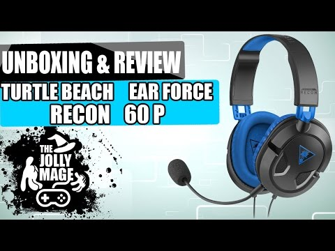 Turtle Beach Ear Force Recon 60P Unboxing First Impressions and Review