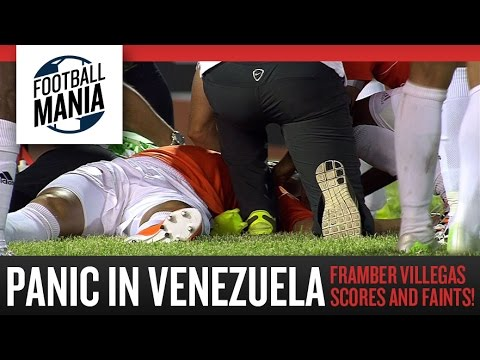 PANIC in Venezuela!!! Framber Villegas Scores and gets Knocked Down!