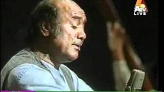 Mehdi Hassan Live...Rafta Rafta Woh Meri (Rare Version)