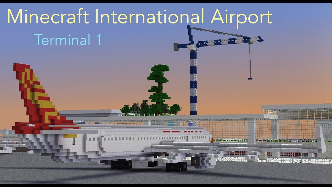 Minecraft airport security